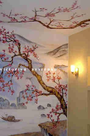 на росписи сонник стенах